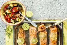 Sea Food Recipies - Kala-ja äyriäisruokien reseptejä / Delicious sea food recipies - Suomen parhaiden ruokatoimittajien kala-ja äyriäisherkut