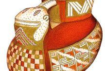 Precolumbian pottery