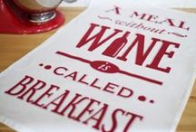 Tea Towels / by Of Life & Lemons - www.oflifeandlemons.co.uk - All designs © Angie Freese