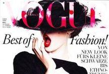 """Vogue 'IT' / """"When I first moved to NY I bought Vogue instead of dinner. I just felt it fed me more"""" - Carrie Bradshaw"""