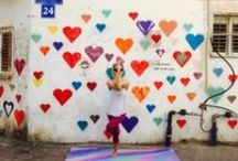 Art Meets Yoga / Yoga Mats, Murals, Art, Yoga Practice by Yoga Zeal