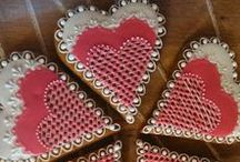 Wedding Honiees / Decorated honey cookies for wedding day.