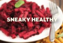 Sneaky Healthy / Creative, fun, and delicious ways to sneak super healthy ingredients into your diet.