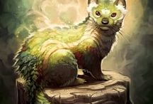 Gods and Beasties / Fantasy writing inspiration for unusual beings.