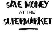 How To Save Money At The Supermarket / How you can save money on grocery shopping, feed your family for less, and find tips on cutting your food spending.