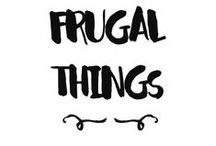 Five Frugal Things We've Done... / A collection of the regular Five Frugal Things posts on HomelyEconomics.com, highlighting the top 5 thrifty and frugal things of the past weeks.