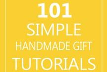 DIY Gifts / Don't spend a fortune buying gifts no one needs... Make something instead!  And make gifts that people will use and enjoy.