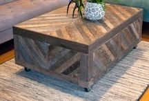 DIY Pallet Projects / Pallets are free!  I can't think of a better material to build and design with!