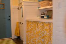 Interior *Laundry Rooms* / My laundry room is one room I have actually finished! http://smartgirlsdiy.com/tag/laundry-room/