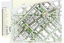 urbanismo - representação gráfica / referências representação gráfica para projetos urbanos
