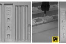 plastici architettonici / taglio laser e fresatura cnc per plastici architettonici