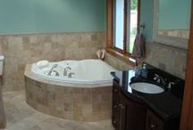 W.B. Dickenson Finished Bathroom Pics / Completed Bathroom Remodeling Projects