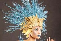 Hats and Headdresses / Fabulous and extravagant hats, fascinators, and headdresses