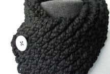 Crochet foulard
