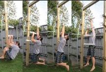 My homemade gym equipment / All my personal homemade workout gym gear