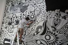 """Zentangle + Doodle / Merci à tous les créateurs de tangles, de doodles, de zentangles d'inspiration et ceux qui sont d'officiels zentangles. Merci au site https://www.zentangle.com et à leurs initiateurs pour leur générosité et leur extraordinaire inventivité... Cette méthode de """"connexion"""" avec le soi intérieur que vous avez créée est magnifique. Je salue vos créations à tous et le talent de certains qui parfois me """"jette par terre"""". J'espère également que chacun respectera vos droits d'auteur."""