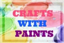 CRAFTS WITH PAINT
