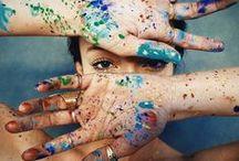 Colorful <3 / Não deixe a vida perder a cor, mas não seja insano ao pintar. Colorido demais estraga, embaçado perde a graça e cintilante ofusca a visão.