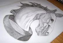 Traditional Illustrations / Traditional Illustrations (Handmade illustrations)