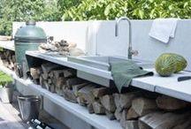 Indoor/Outdoor Kitchens