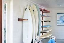 """Surfing Art - """"Surf, Jam and Live in a Van"""" / Surfing art, board make overs and vintage VW's"""