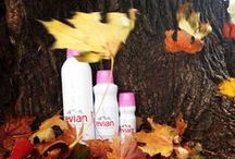 Fall Favorites / Our favorite fall beauty trends! Keep these great looks lasting all day with Evian Spray!