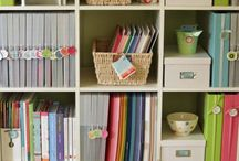 Get Organized - shelving, storage, filing, getting rid of clutter, clever lists and so on
