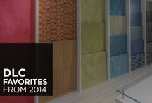 DLC Favorites from 2014 / We have compiled our list of favorite wallcoverings and fabrics from the past year!