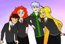 Big 4 / i hate them. really. but in hogwart they're really cool...