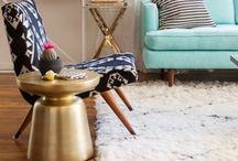 Modern vintage lounge / Home ideas
