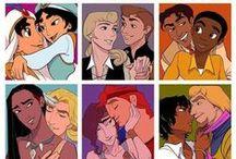 Disney Genderbend / WARNING: HOT GUYS. Esmeralda is my most favourite.