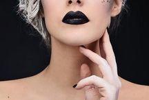 DARK LIPS / TENDANCE / Brown, black, purple