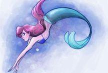 DISNEY ∙ Ariel Little Mermaid