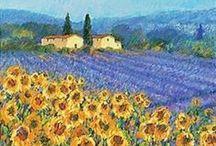 arte / un' esplosione di immagini e colori  in un viaggio nell' arte pittorica