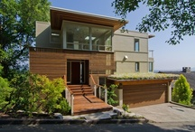 Modern Home Remodel / It is all about the view and creating finishes and colors that  enhance.