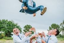 | GROOMSMEN | / Find inspiration for the groom and his groomsmen by taking fashion cues from these dapper dudes.