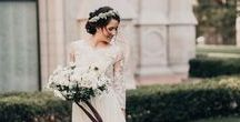 | DRESSES | / Find the dress that will make you feel your absolute best on your big day.  The options are endless when it comes to wedding gowns- A-Line, Ball Gowns, Strapless, Lace, Fit & Flare and more-but the selection process doesn't have to be daunting.  Take some wedding dress inspiration from us.