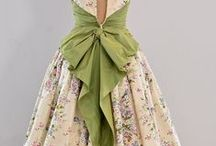 ~Vintage~Dress~ / Lovely style from long ago. / by Elizabeth .