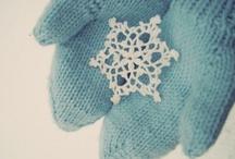 d.i.y. zima dom pełen śnieżynek / home full of snow flakes