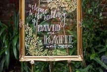 | DIY | / Now, more than ever, DIY weddings have become the name of the game.  Discover inspiration for creating design elements for your big day using everyday household items or common craft store finds.