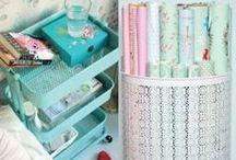 Organising - storage