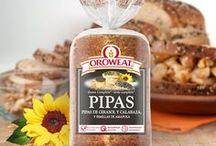 Variedades Oroweat / Especialista mundial en multisemillas y cereales. El pan más sabroso que el blanco y que el intergral.