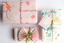Brown paper packages... / Little gift wrapping ideas to win an ohhh and little ideas of what to wrap. ✨