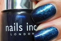 Nails Inc Lacquers Amazing Nail Polish / Nails Inc. have kept our nails fashion focused since 1999. Pick from hundreds of swish shades - all named after our favourite fancy London landmarks - or spot them behind the scenes at Fashion Week tricking out the models' talons. / by Maria Sousa
