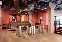 Turnstiles Installations / Examples of PERCo turnstiles and access control products installations. Find more at www.perco.com.