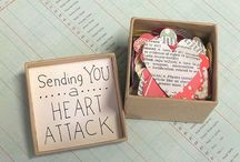 Sent / Notes and packages to send to those who are a distance away...
