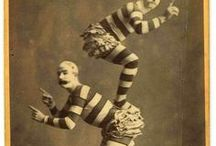 Vintage Circus / Here you will find all kinds of vintage circus inspiration, costumes and makeup ideas for your next party, costume or even your act!