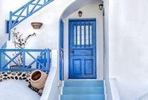 Blue Greece #blue / Grecja to każdy odcień niebieskiego... Lazur, błekit, modrak i granat. Można się zakochać! <3 Greece is all shades of blue... You may fall in love with it! <3