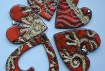 Biżuteria/ Jewellery / Biżuteria z ceramiki i kamieni szlachetnych/ Ceramic jewellery