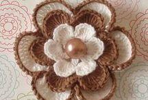 Crochet (Flowers & Doily)